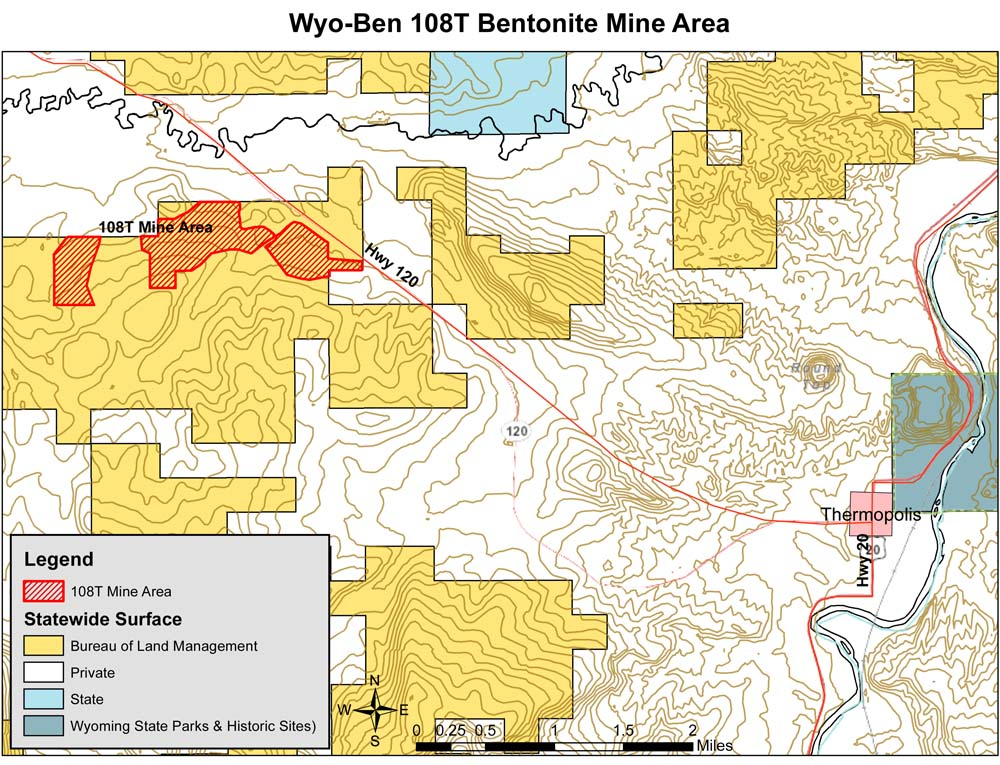 Public Comments Sought On Bentonite Mine Thermopolis Independent